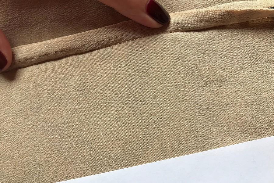 Как с помощью листа бумаги обработать припуски подкладкой мастер класс