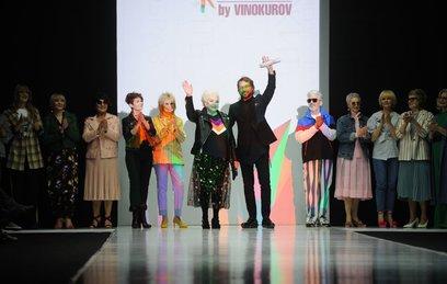 Супербабушки вышли на подиум московской Недели моды