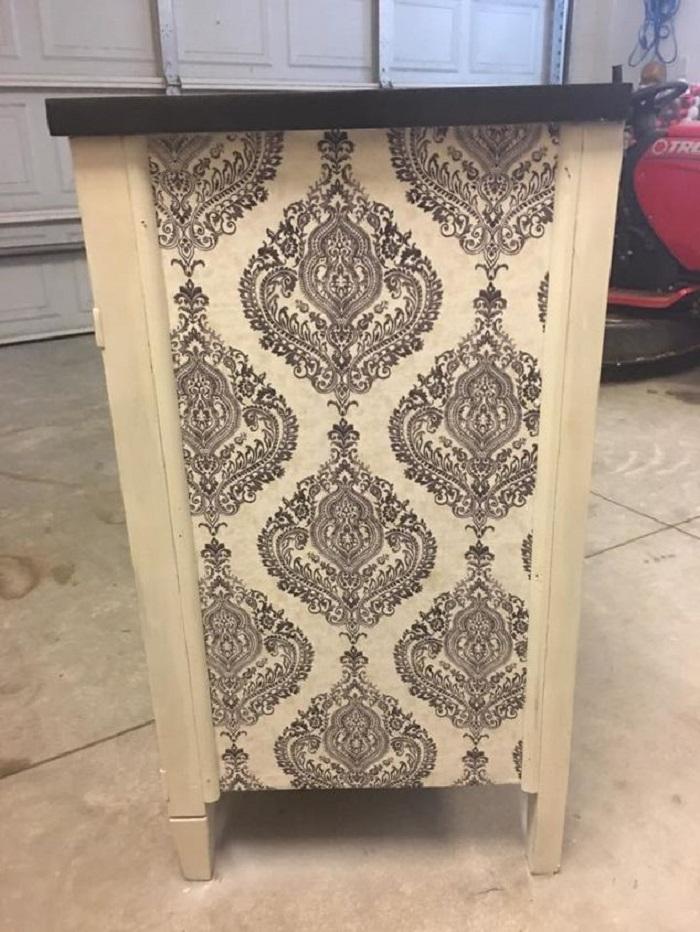 В сарае нашла старинный комод и отреставрировала его: результат невероятный мебель,новая жизнь старых вещей