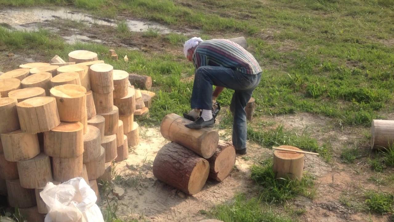 Из обычных дров можно построить красивый и тёплый дом. Все гениальное просто!
