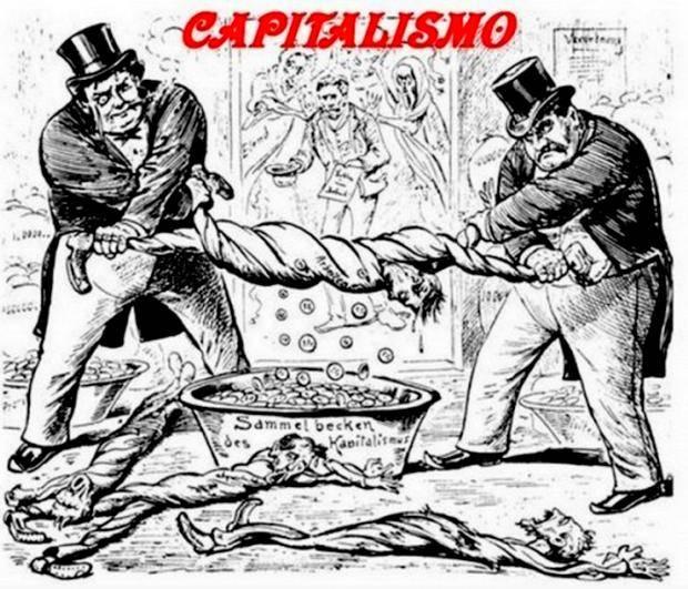 Кризис капитализма и его кровавые итоги