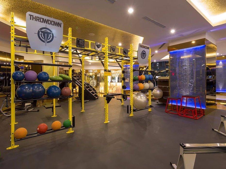 Самый роскошный спортзал в мире, с абонементом за 2 миллиона рублей