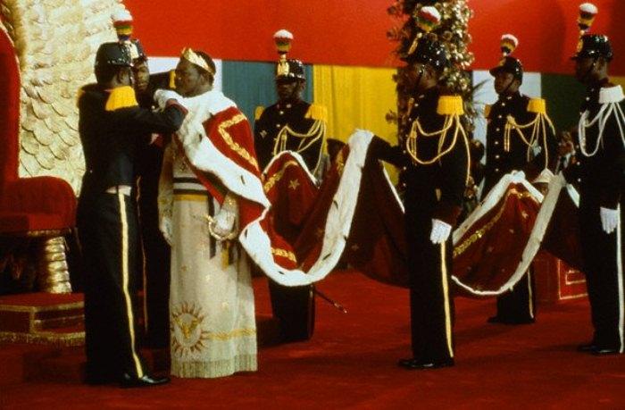 Коронация Жана Бокассы.