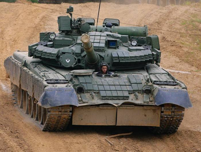 Россия приводит в порядок скоростные танки Т-80