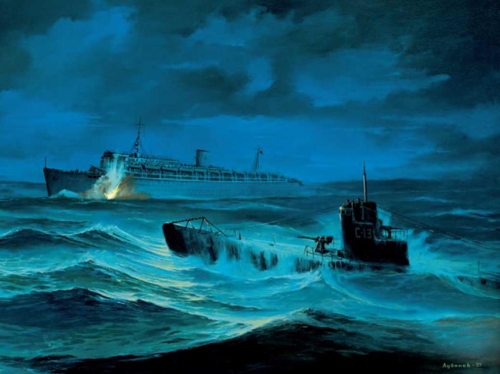 Александр Маринеско и встреча на Балтике: крупнейшая военная катастрофа в истории