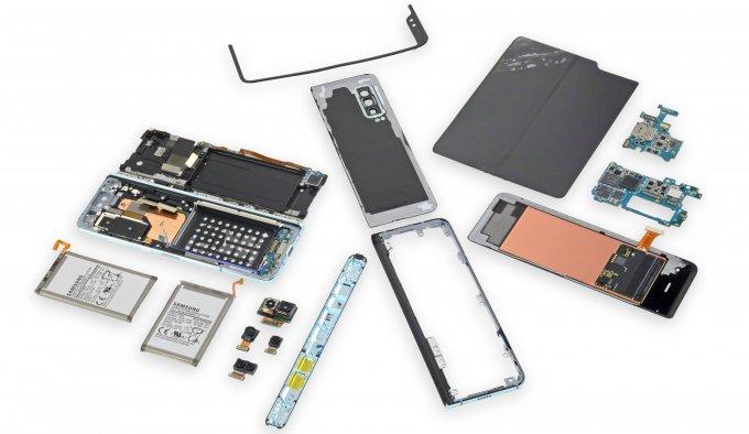 Названа причина поломки складных смартфонов Samsung Galaxy Fold samsung galaxy fold,гаджеты,смартфоны