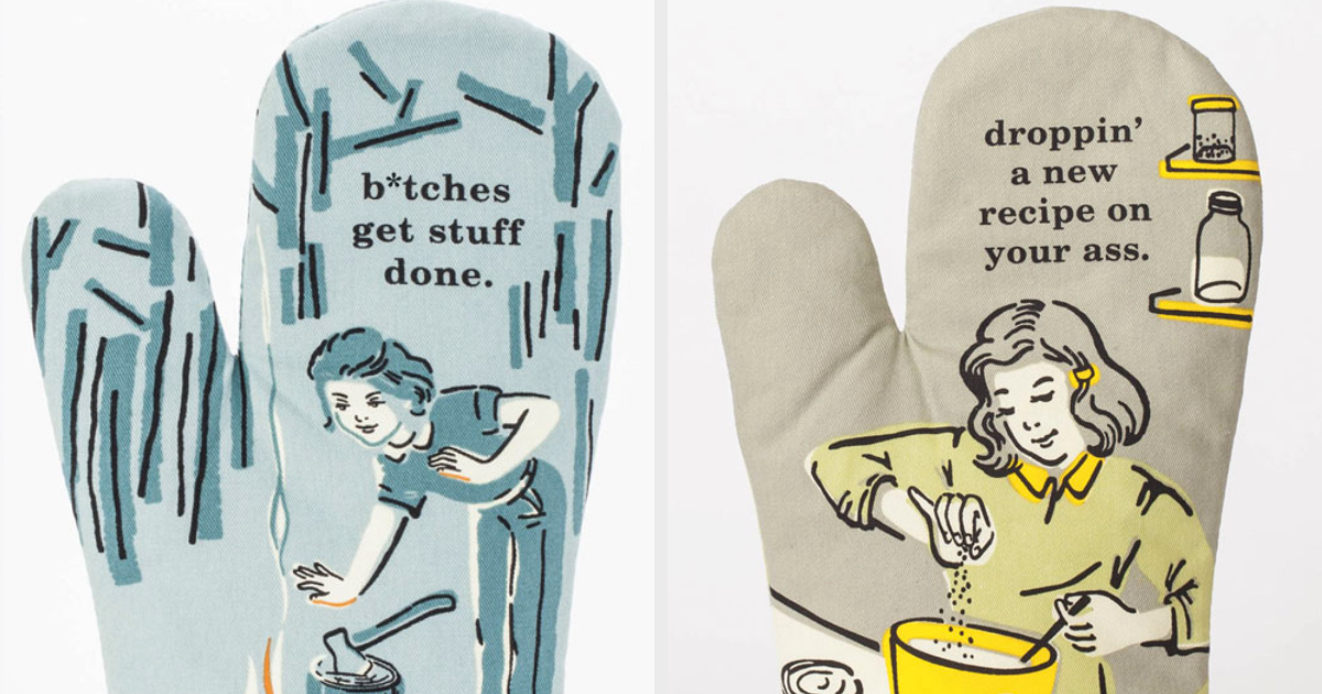 12 Sweary Oven Mitts For Cooks With Attitude