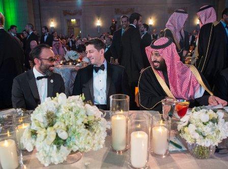 США иСаудовская Аравия отметили 80 лет отношений «партнёрским обедом»