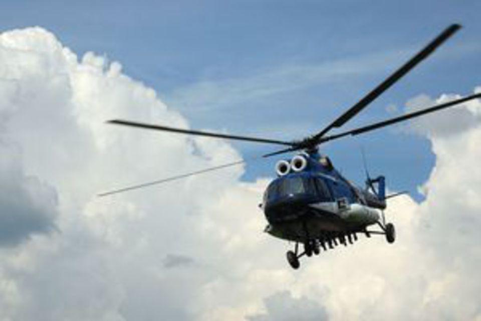 Ми-8 совершил жесткую посадк…
