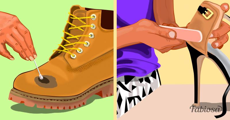 Простые способы ухода за новой обувью