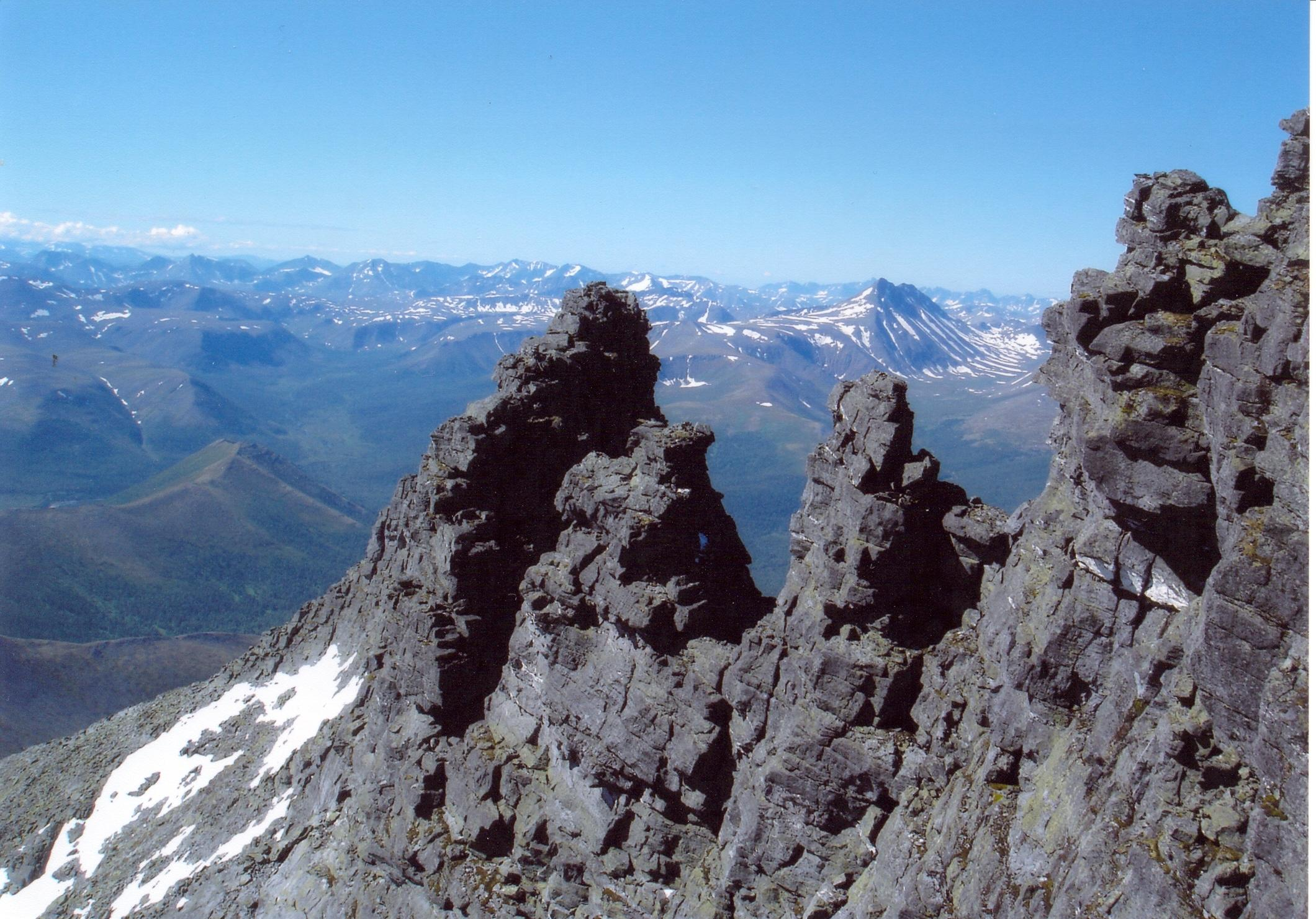 Уральские Альпы