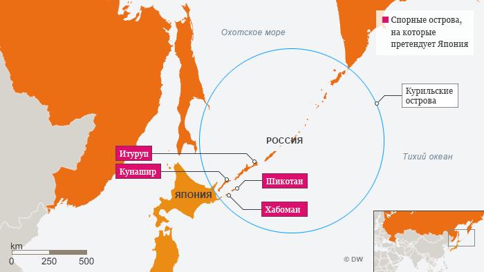 Чем важны оспариваемые Японией Курильские острова?