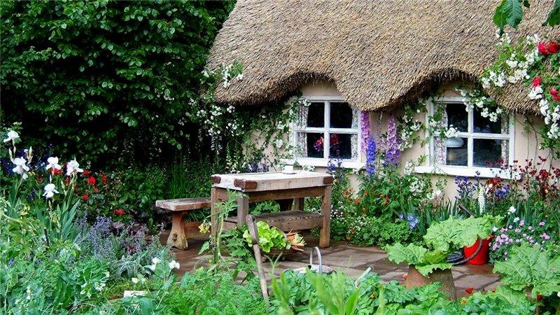 Free Cottage English Garden Wallpaper - Download The Free Cottage English Garden Wallpaper - Download Free Screensavers, Free Wa