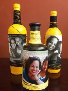 Полезное баловство с бутылками: красим, рисуем, украшаем