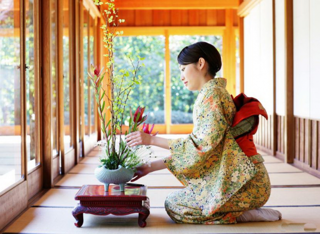 Японский букет - это особая техника создания