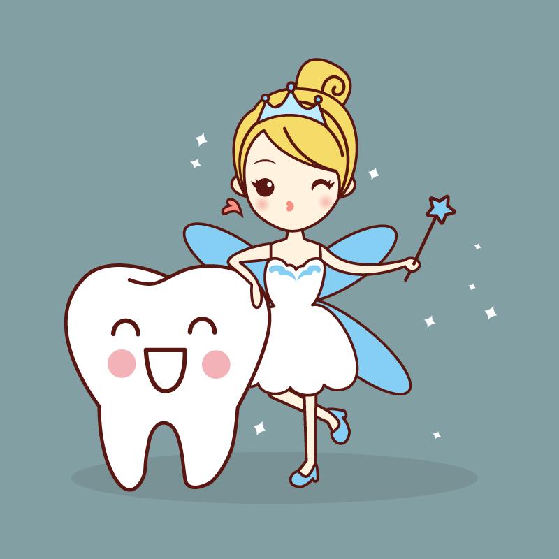 Утро, зубная фея открытки