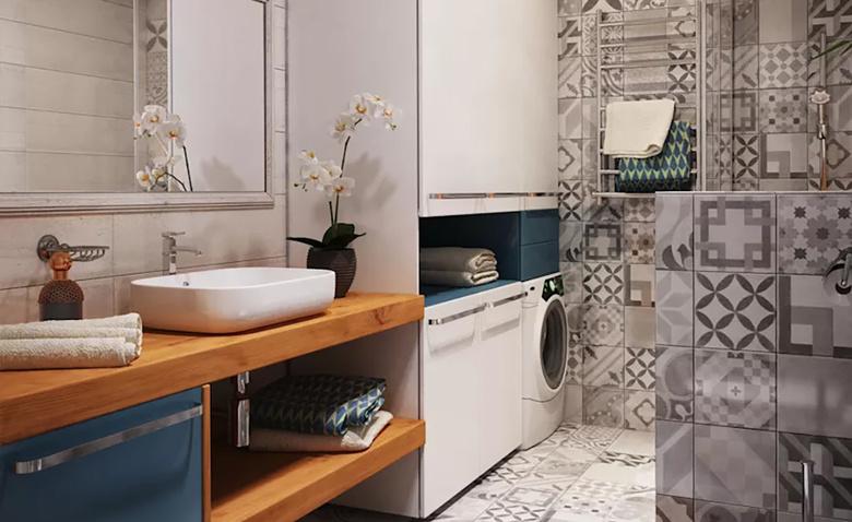 6 способов скрыть стиральную машину
