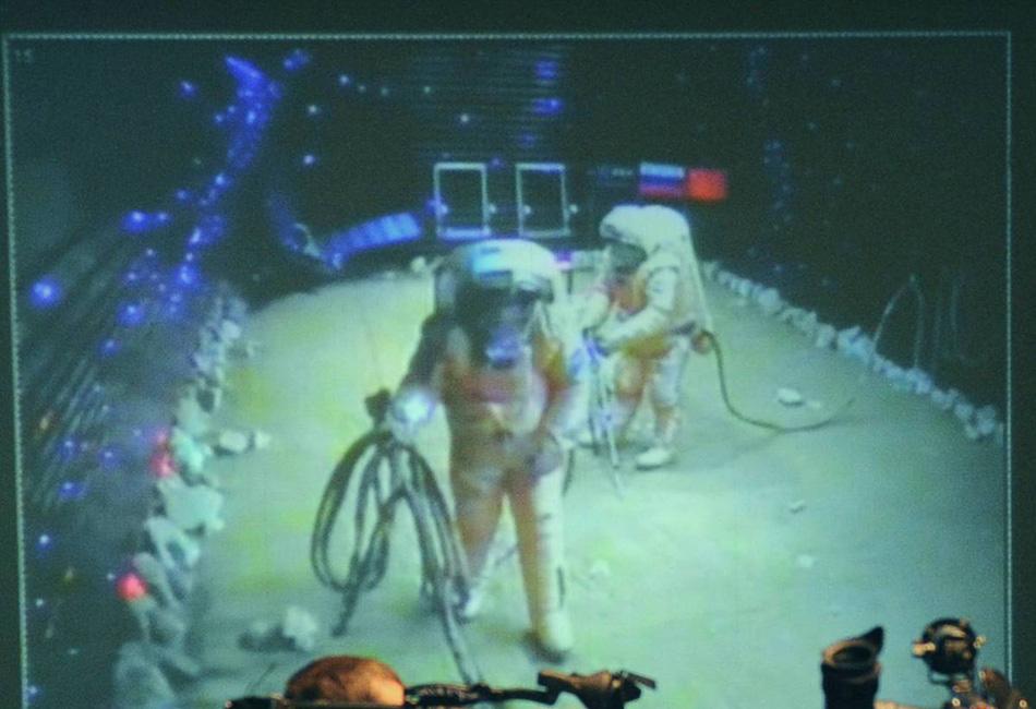 Тренировки космонавтов на Земле