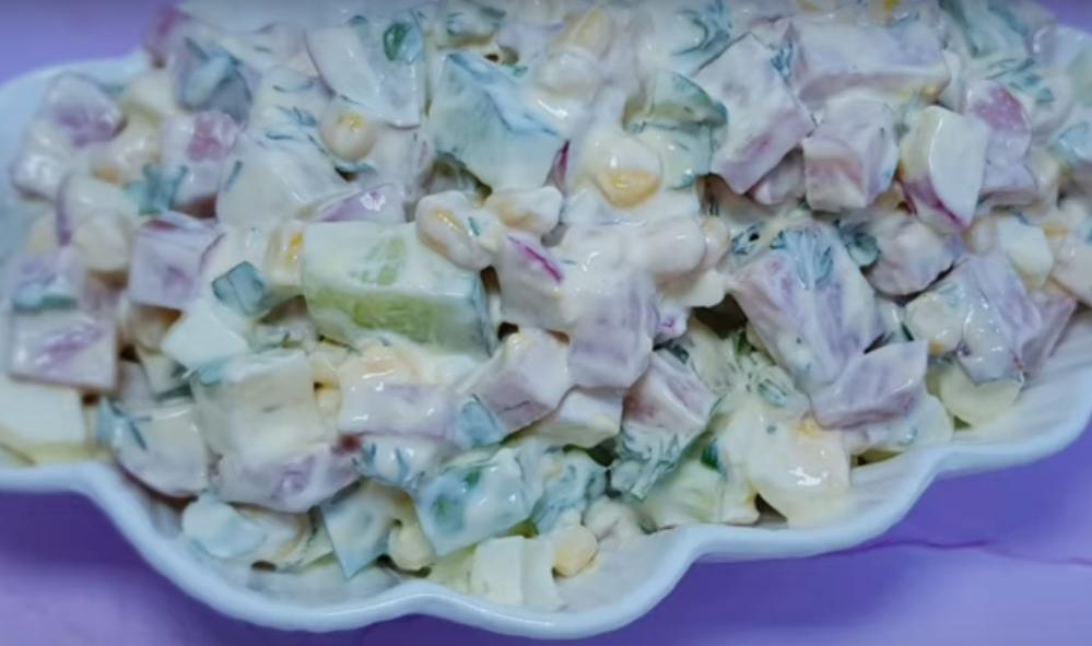 Быстрый салат из серии