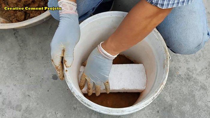 Как из глины и цемента сделать компактную печку для готовки для дома и дачи,мастер-класс,сделай сам