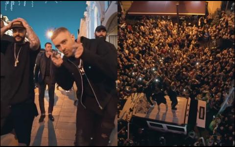 Полиция накажет Тимати и Крида за пробку в центре Москвы