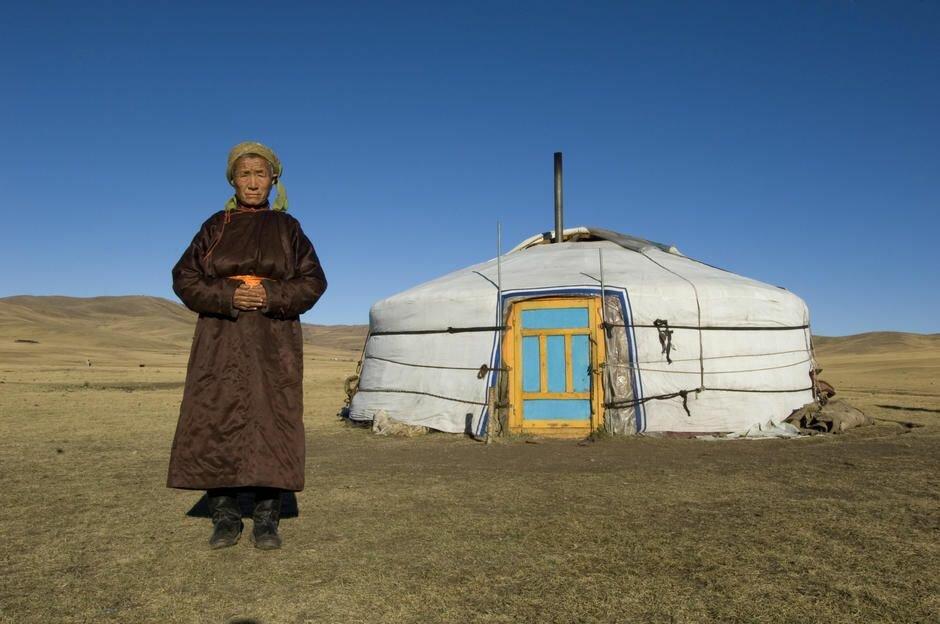 Как живут монголы в юртах?