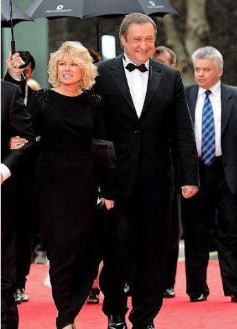 Ирина Вирганская с мужем