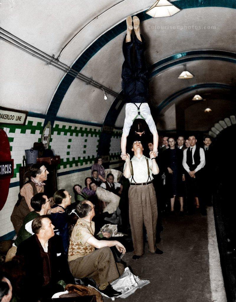 Лондонская подземка во время…