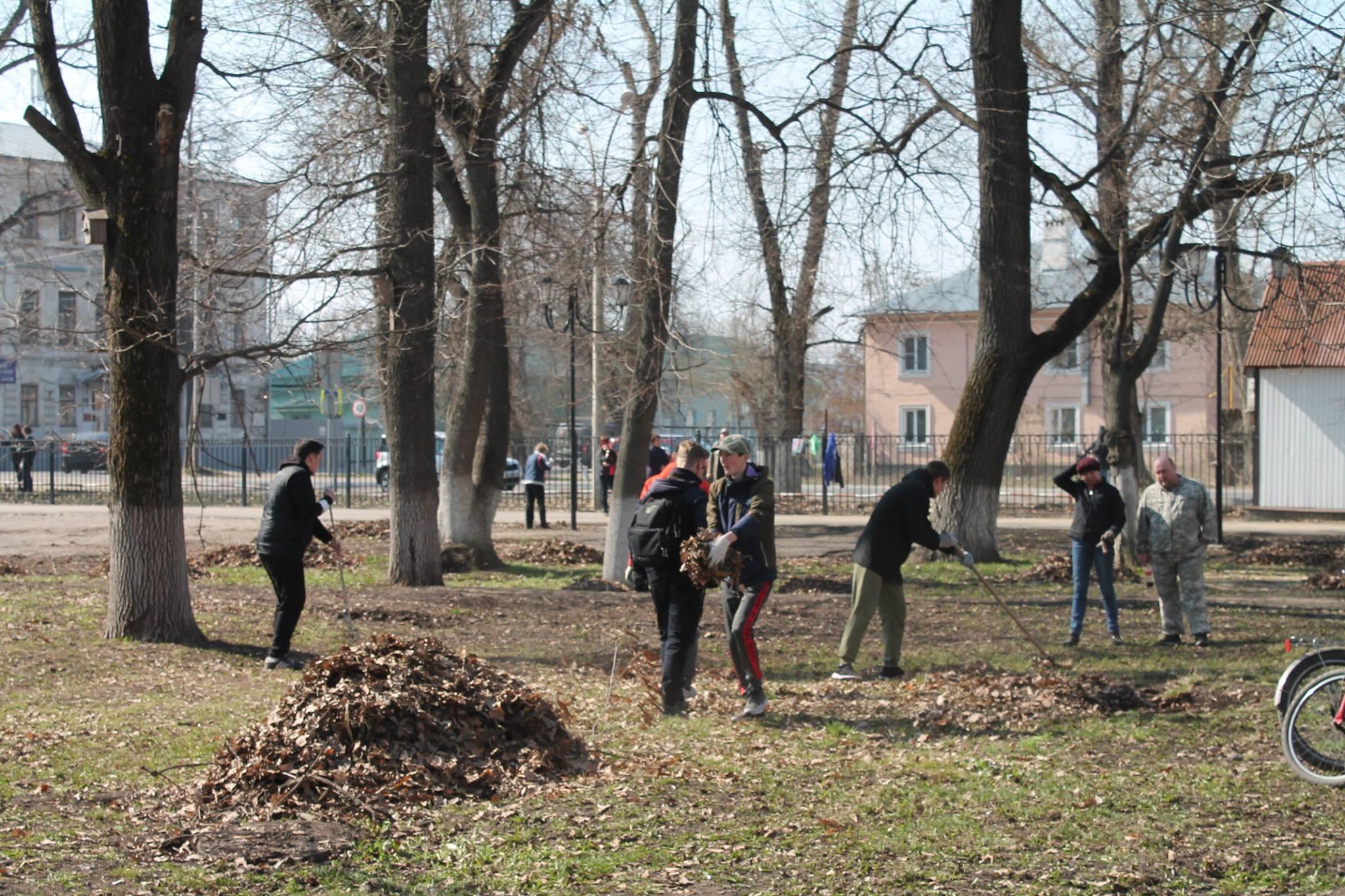 Реконструкция городского сада в моршанске фото