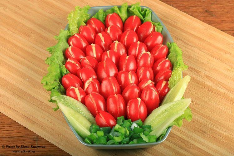 Холодная закуска из помидоро…