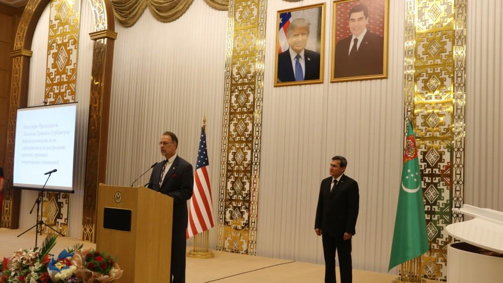 Как США «дружат» с Туркменистаном
