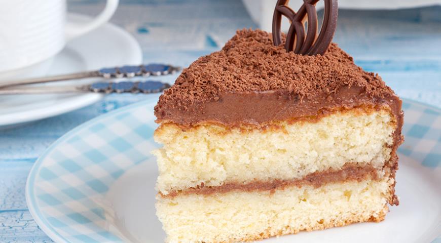 ДЕСЕРТНЫЙ ВИХРЬ. Трюфельный торт с кремом Шарлотт