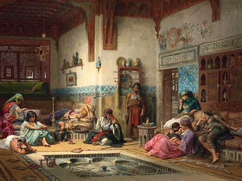Картинки гарема турецкого султана