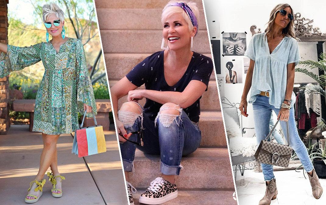 Молодежный стиль в одежде, когда вам 50+: допустимо или запрещено?