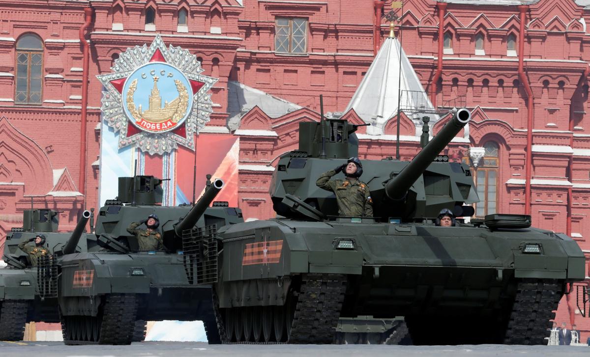 Россия создает боевых роботов.