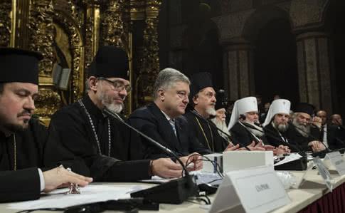Оскверненный собор Киева