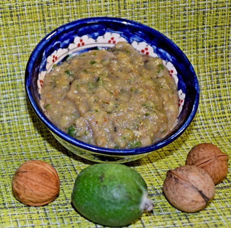 Ореховое фейхоа или фейхоа с орехами здоровье,кулинария,кухонька