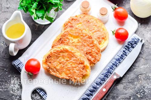 бутерброды с луком готовы