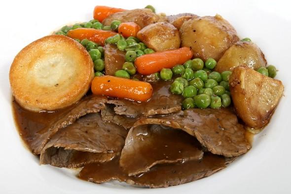Roast dinner, или воскресный ужин в Англии.  Мой опыт. Рамзия