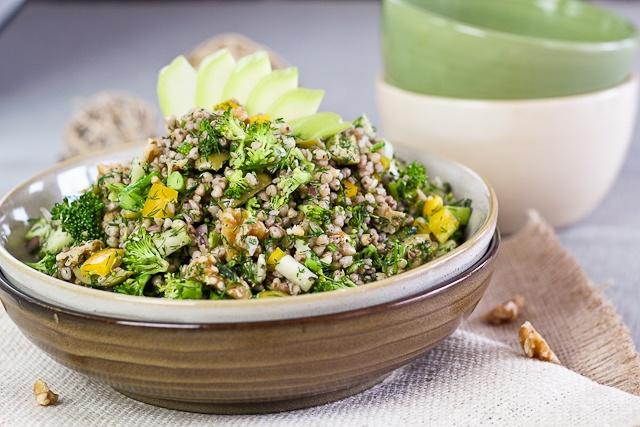 Изображение рецепта Летний салат с гречкой