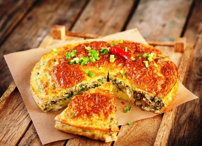 Заливные пироги с рыбными консервами: 8 рецептов