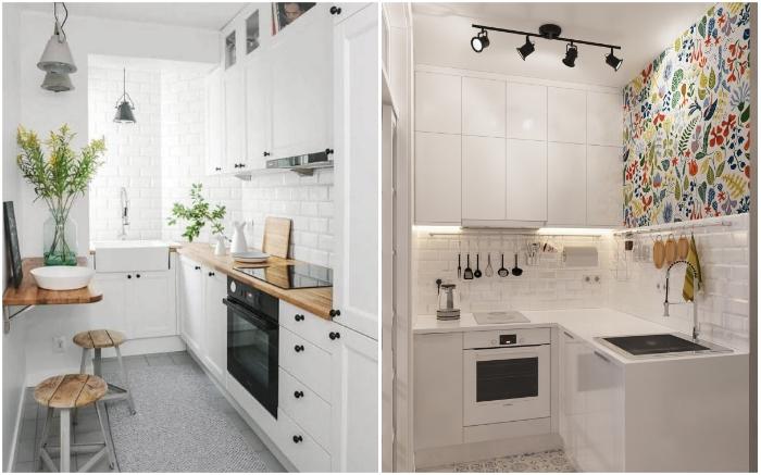 Маленький формат и рациональные решения: как обустроить кухню площадью 4-5 кв. м идеи для дома,интерьер и дизайн