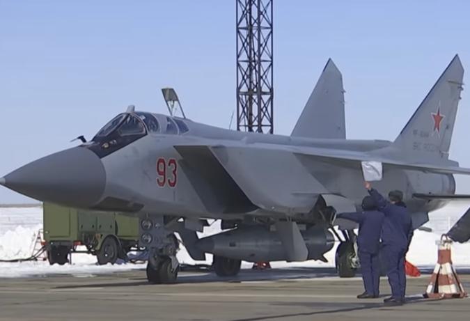 Замминистра обороны РФ назвал ракеты «Кинжал» убийцами авианосцев
