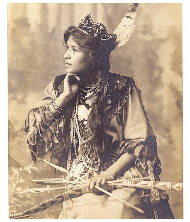 Девушки племени Сенека, 1893 женщины, индейцы, красота, племена, прерии