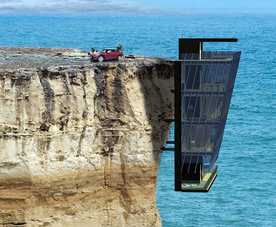 Cliff House: отличная идея для любителей шикарных видов