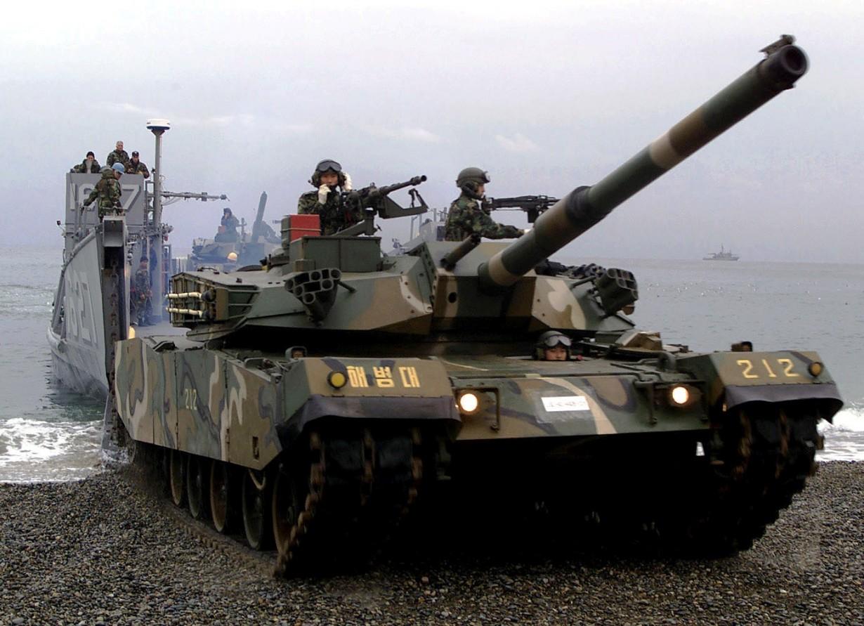 K1A1, Южная Корея (James E. Lotz)