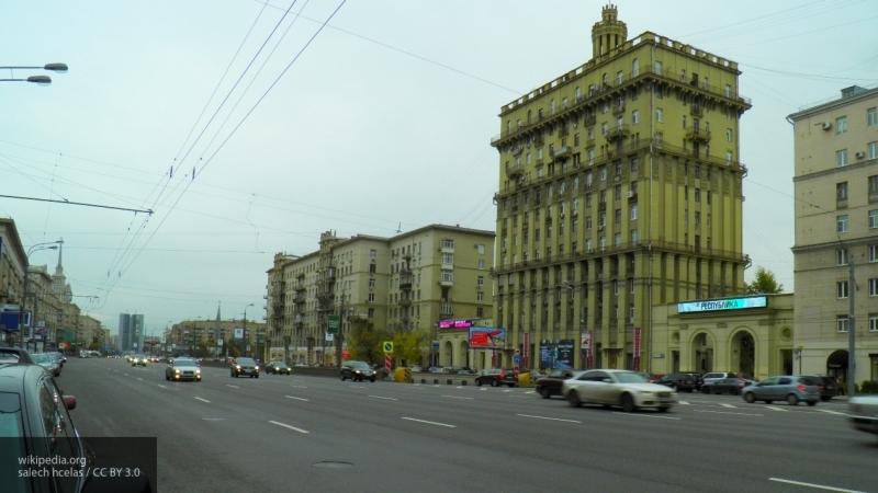 В Москве до 2 декабря ограничили движение по Кутузовскому проспекту