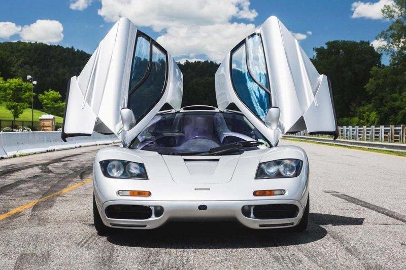 k за шиномонтаж: сколько стоит обслуживать культовый суперкар McLaren F1?