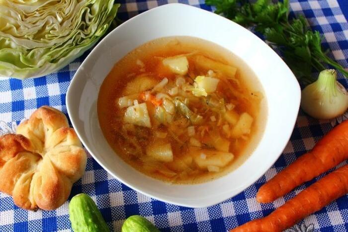 Капустный суп. \ Фото: flags.org.ru.