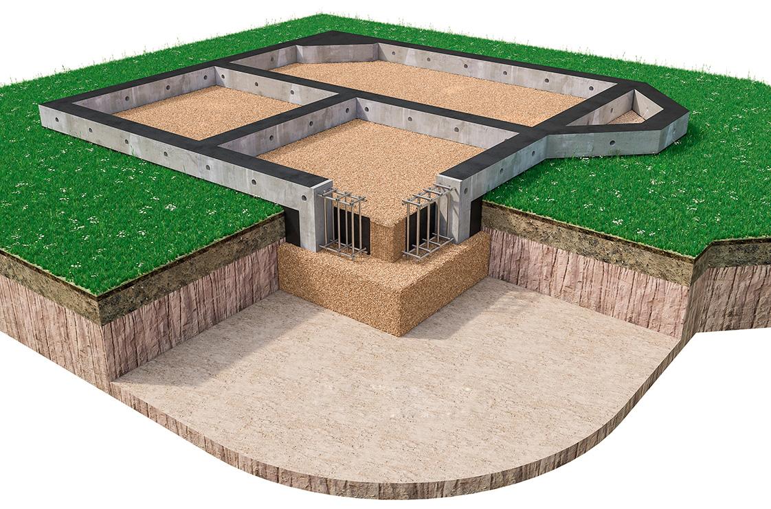 построить монолитный фундамент